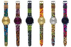 Beautiful watches in African print from Komono and Vlisco African Fashion Ankara, Ghanaian Fashion, Latest African Fashion Dresses, African Print Dresses, African Dresses For Women, African Print Fashion, African Women, African Prints, Africa Fashion