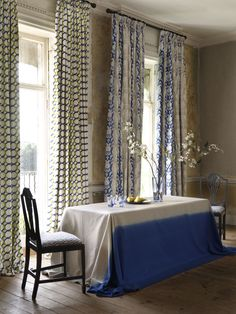 Camelia and Giovanni fabric from the Traviata range - available from Rodgers of York Brick Patterns, Wall Patterns, Cole And Son Wallpaper, Mad About The House, Navy Walls, Pink Tiles, Monday Inspiration, Modern Materials, Soft Furnishings