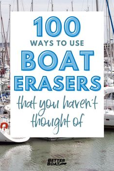 Are you a big fan of using magic erasers on everything? Well get ready to become a huge fan of using boat erasers for more than just boat cleaning. This cleaning hack will not only replace boat soap and make cleaning your boat interior or pontoon boat easier but it's also going to make your DIY home cleaning projects more quick and replace those unnecessary supplies! Check out this list of 100 ways to use boat erasers that your haven't thought of! #cleanboats #cleaningaboat #boattips Boat Cleaning, Diy Home Cleaning, Cleaning Products, Deep Cleaning, Cleaning Hacks, Magic Erasers, Hair Dye Removal, White Porch, Living On A Boat