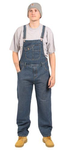 a1ef493c9df Peviani - Relaxed Fit Dungarees - Stonewash Jean denim unisex bib overall  onesie HK1336sw  Amazon.co.uk  Clothing