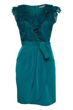 CS Freda Lace wrap dress