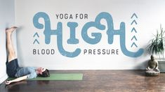 How yoga can heal hypertension.