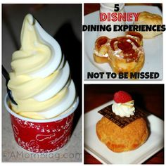 5 Dining Experiences at DisneyWorld You Should Not Miss