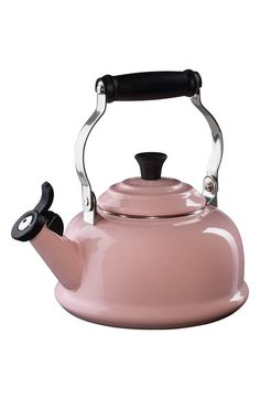 For me!! $100 10x 8 x 7, in 7 colors including Marseille!! Le Creuset Classic Whistling Tea Kettle available at #Nordstrom