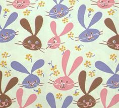 Vintage hallmark easter gift wrap paper by hannahandhersisters vintage wrapping paper wrapping papers gift wrapping easter gift vintage greeting cards vintage gifts beagle easter ideas vintage easter negle
