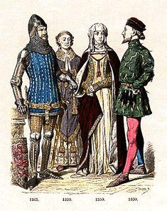 England - 1365, 1330, 1350, 1390