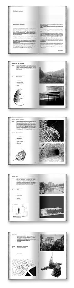 Make it typical! A small atlas of architectural atmospheres -  Atelier Peter Zumthor - AAM / publications / LOKOMOTIV.archs office LKMV © 2002-03
