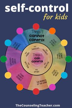 Self control kids activities Use these self-control activities for kids to help students focus on things they can control. They learn to let go of things that are out of their control. Doing this lowers anxiety and stress and builds self-confidence. Counseling Activities, Therapy Activities, Activities For Kids, Health Activities, Group Activities, Social Skills Lessons, Coping Skills, Self Control, Circle Of Control