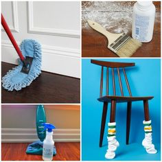Scratches, scuffs, and dents are inevitable on wood floors. We've found 15 wood floor hacks to help you keep your floors looking like new. Old Wood Floors, Cleaning Wood Floors, Rustic Wood Floors, Clean Hardwood Floors, White Wood Floors, Floor Cleaning, House Cleaning Tips, Cleaning Hacks, Plank