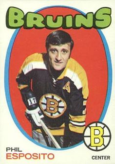For sale topps hockey cards 40 brad park nhl hall of famer new york rangers emorys memories. Hockey Games, Ice Hockey, Phil Esposito, Dont Poke The Bear, Hockey Hall Of Fame, Boston Bruins Hockey, Boston Sports, Sports Figures, National Hockey League