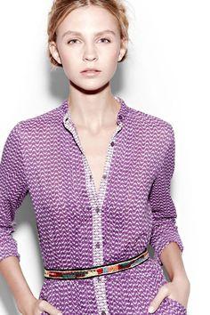Streli Djellabah purple : Antik Batik Eté 2012