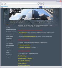 Presentazione dei servizi di web marketing e delle attività SEO della web agency Atlas.