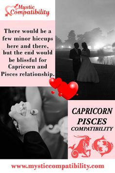there would be a few minor hiccups here and there, but the end would be blissful for Capricorn and Pisces relationship. #Capricorn #Pisces #Relationship #Compatibility #Capricorn_Pisces #Relationship_Compatibility #CapricornPisces #RelationshipCompatibility #Zodiac_signs