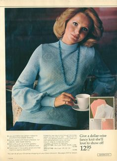 All sizes   1975-xx-xx Eaton's Christmas Catalog P041   Flickr - Photo Sharing! 70s Fashion, Vintage Fashion, 80s Stuff, Christmas Catalogs, 1950s, Photo And Video, Sweaters, Sweater, Fashion Vintage
