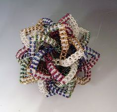 By Emilie Pritchard EPOriginals - interlocking icosahedral RAW sphere