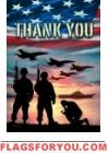 Thank You Troops House Flag Military Housing, House Flags, Garden Flags, Cemetery, Troops, Freedom, Patriotic Flags, America, Beautiful