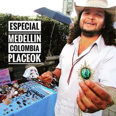 Coming soon our special of #medellin #colombia meanwhile we're finishing the blogpost about that amazing city.  In Arvi Park you'll find several artisans like our friend who makes pretty pieces of jewerly.  www.placeok.com  #placeok #placeokstudio #travelblog #travelbloggers #vivemedellin #visitmedellin #colombiaismagicalrealism #colombiaesrealismomagico #travelstoke #traveladdict #ontheblog #beautifuldestinations