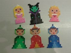 Sleeping Beauty characters perler beads by Belinda G.- Perler® | Gallery