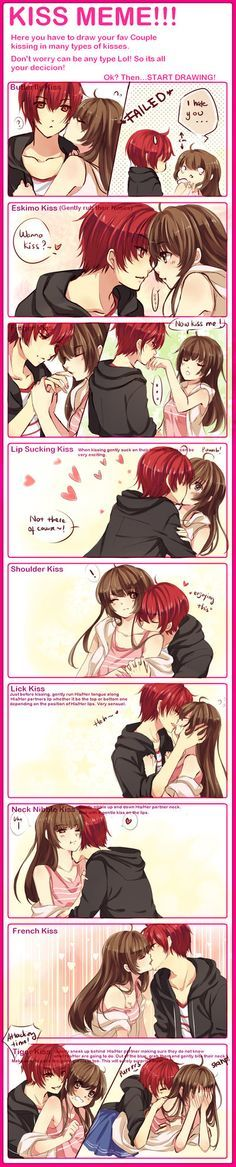 Anime Couples - kiss - Cerca con Google