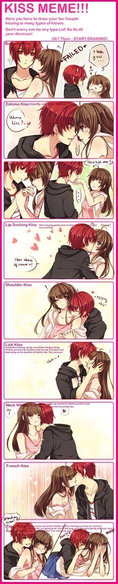 Anime Couples - kiss - Cerca con Google