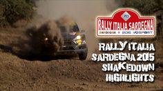 WRC rally Italia Sardegna 2015 shakedown highlights