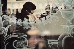 """fictions-de-l-interlude: """" Cafe, Window, ,Paris ,1964 ©︎Gordon Parks """""""