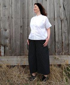 Plus Size Kleidung, Outfit, Style, Mandarin Collar, Blouse, Mandarin Oranges, Sustainable Fashion, Curvy Women, Fashion Plus Sizes