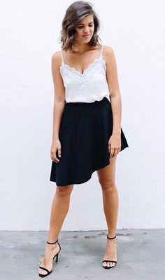 A-symmetrical skirt