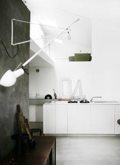 Loft kitchen | concrete walls and floor | Amorfo