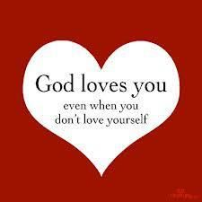 God loves you even when you don't love you. Praise The Lords, Praise God, Spiritual Quotes, Positive Quotes, Bible Quotes, Bible Verses, Godly Quotes, Prayer Verses, Jesus Quotes