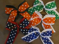 Central Valley Chargers All Star Cheer > Home > Custom Cheer Bows
