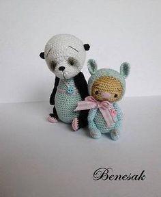 crochet mini Bear by benesak - Google'da Ara