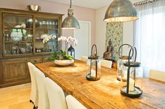 dining room furniture, side cabinets and table