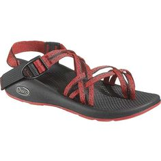 Chaco Women's ZX/2 Yampa Sandal ($105) ❤ liked on Polyvore featuring shoes, sandals, spirit rxb, wrap sandals, toe loop sandals, chaco sandals, slip resistant shoes and light weight shoes