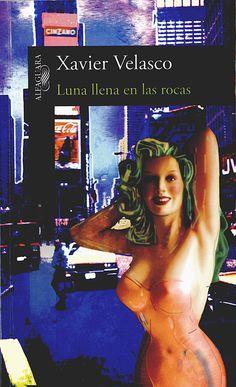 Luna llena en las rocas-Xavier Velasco