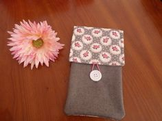 Huawei P9 phone pouch, LG G5 fabric case, Roses HTC 10 sleeve in handmade  #Driworks