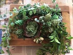 ダイソーやセリアのフェイクグリーンやフェイク多肉を使って、 今流行りのパレット風アレンジにしてみました。 最近の100均のフェイクをあなどることなかれ(笑) 温かみのある木と組み合わせることにより更に安っぽさが なくなります♪ 今回材料費が1200円ほどで作ることが出来ました。 Flower Frame, My Flower, Flowers, Recipe Steps, Wood Wall, Flower Arrangements, Indoor Outdoor, Diy And Crafts, Green