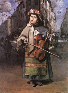 Little Italian Street Singer (1866)  by   Frédéric Bazille (December 6, 1841 – November 28, 1870), French Impressionist painter. - http://en.wikipedia.org/wiki/Fr%C3%A9d%C3%A9ric_Bazille  -- (via marie-claude mallejac http://www.pinterest.com/pin/561331541027504874/ )