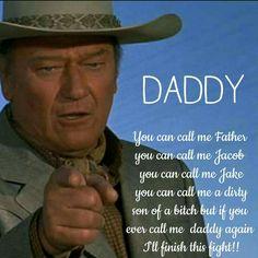 ~ Ik, Father. ~