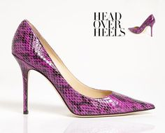 Exude Sophistication in Powerhouse Python Pumps. Jimmy Choo Spring 2013 Shoe Lookbook