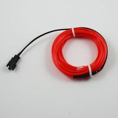 5M 10 Colors Red 2.3mm Diameter EL Wire Light Tron Neon Glow Rope with 12V Transformer Inverter by Lerway. $12.99. 5M 10 Colors Tron Neon Glow Electroluminescent Wire EL Wire with 12V Transformer Features:  Flexible and water resistant, can be bent into any shape and cut into any length Can offer 360 degrees of illumination Energy saving, long life time Life time: more than 12,000 hours 2 light modes: steady on, quick flashing Great for car decoration, parties, camping,...