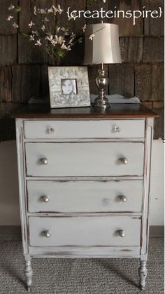 Chalk Painted Furniture By Color Grey Paint