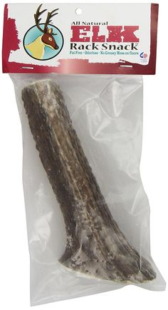 Chasing Our Tails Elk Rack Snack, 100-Percent All Naturally Shed ElkAntler Chew, Large Size 7-Inch to 10-Inch, For up to 75no. Dogs *** New and awesome product awaits you, Read it now  (This is an amazon affiliate link. I may earn commission from it)