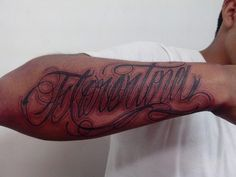 letterin hecho por #wesoer toda bia en rudos tattoo
