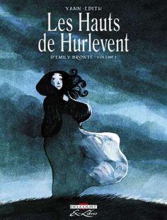 Les hauts de hurlevent - Couverture du premier tome BD - Delcourt