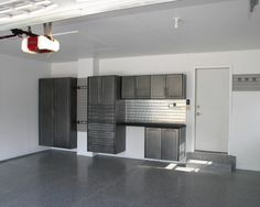 Custom Garage Cabinets Modern And Shed Chicago Pro Storage Systems Aaron Clark Finishing Ideas