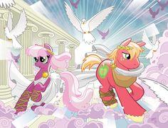 My Little Pony #9 Larry's/Jetpack Covers by TonyFleecs on DeviantArt