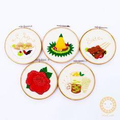 Indonesian traditional cuisine _ hoop art