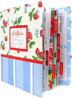 LOVE Cath Kidson! And both my mom and I have this recipe organizer, which is absolutely adorable!