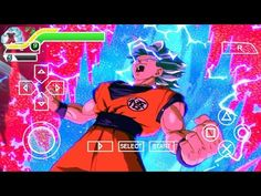 Fixed Menu, Psp, Dragon Ball Z, Opera, Games, Mini, Gaming, Projects, Dragon Dall Z